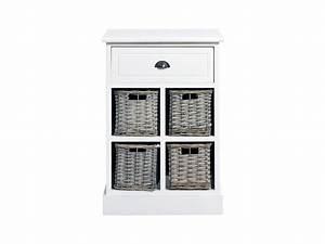Meuble Salle De Bain Rangement : commode salle de bain meuble de rangement 5 tiroirs urban ~ Dailycaller-alerts.com Idées de Décoration