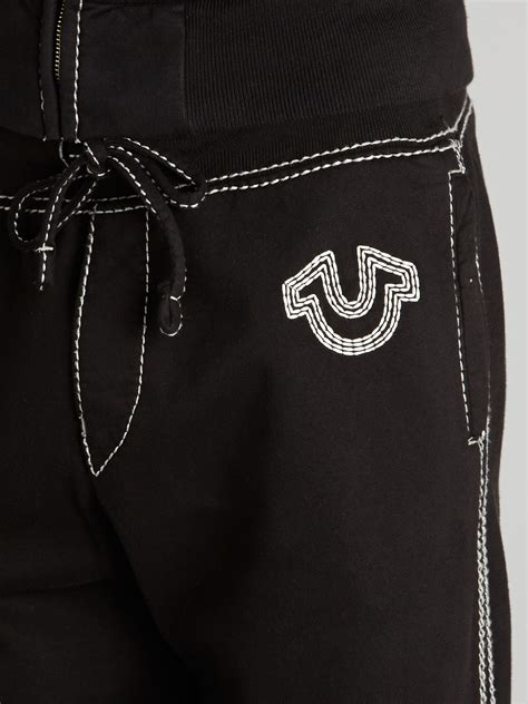 true religion drawstring tracksuit bottoms