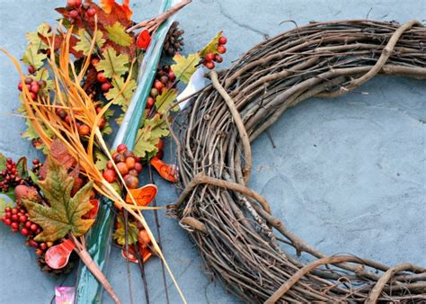 make your own fall wreath make your own fall wreath busy mommy