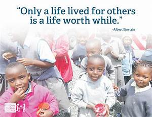 """Quotes - """"Life Lived For Others""""   """"Only a life lived for ..."""