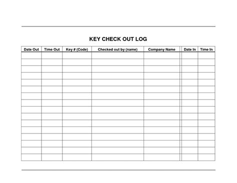 company sign template best photos of tool sign out form equipment sheet template