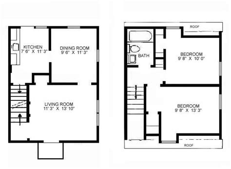 Floor Plans For Small Houses Or By Stylish Simple Floor