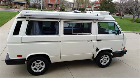 volkswagen vanagon 1988 westy cer w jetta engine new paint and more