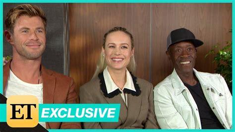 Avengers: Endgame: Chris Hemsworth, Brie Larson and Don ...