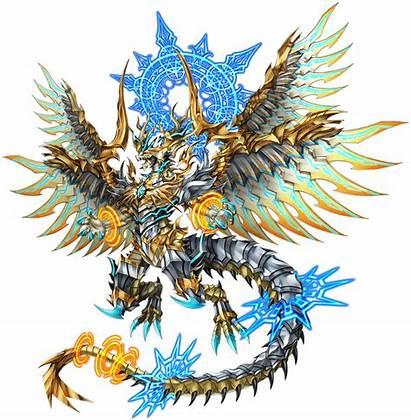 Dragon Divine Fantasy Character Fandom Bravefrontierglobal Creatures