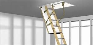 Escalier Escamotable Grenier : roto escalier escamotable ~ Melissatoandfro.com Idées de Décoration