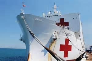 Hospital Ship USNS Mercy