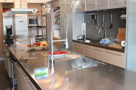 cuisine aluminium awesome modele de placard pour cuisine en aluminium photos
