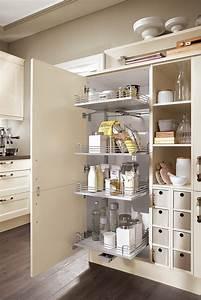 Landhaus einbaukuche norina 7365 magnolia kuchen quelle for Küchen vorratsschrank