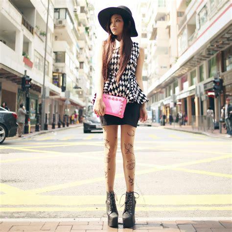 Fashionista NOW: Harlequin Print Trend In Black & White