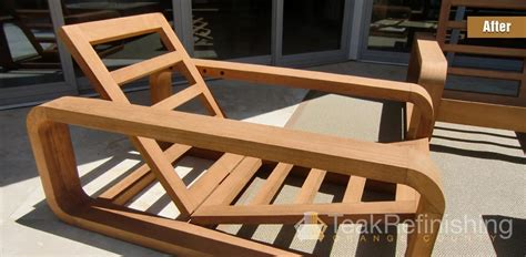 teak refinishing orange county
