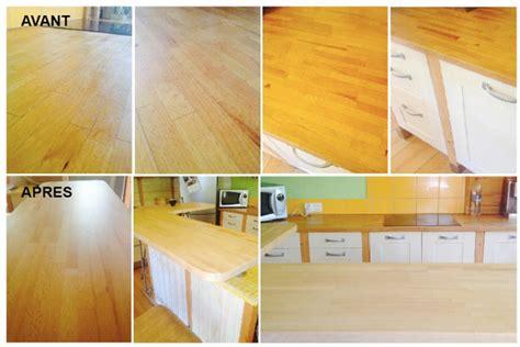 renovation cuisine plan de travail rénover plan de travail en bois cuisine mobilier