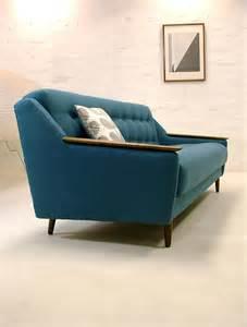 rare mid century modern sofa bed retro vintage day danish