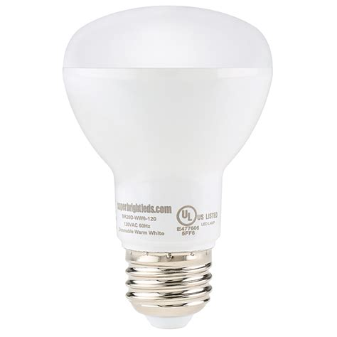 r20 led bulb 6 watt dimmable led flood light bulb