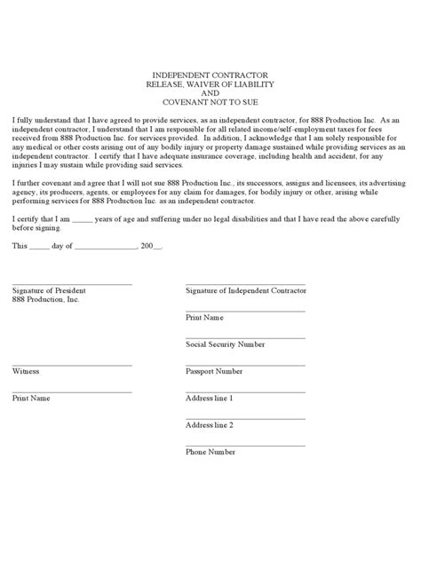 general release form florida general waiver liability form basic payslip template excel