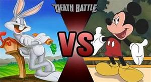 Bugs Bunny vs Mickey Mouse by FEVG620 on DeviantArt