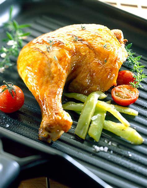 recette de cuisine cuisse de poulet cuisses de poulet grillées à l 39 ail citron et romarin