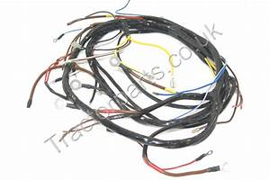 International Mccormick B250 Tractor Wiring Loom