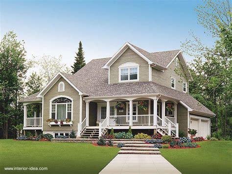 stunning images house plans with big porches arquitectura de casas las casas americanas como estilo
