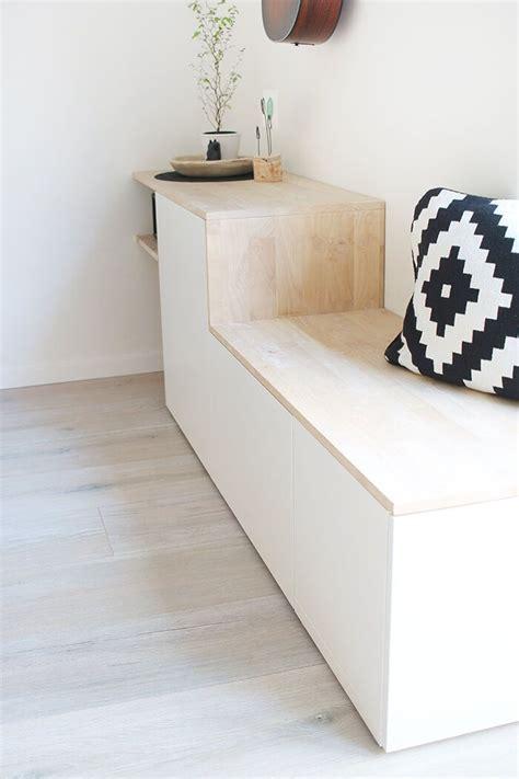 Sitzbank Flur Ikea Besta by Do It Yourself Aus Besta Und Holz Wird Ein Sideboard Mit