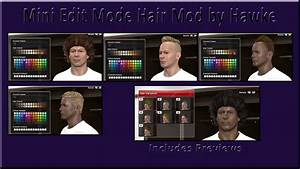 PES 2014 Mini Edit Mode Hair Mod by Hawke - PES Patch