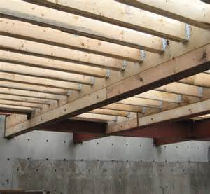 structure steel to wood home building in vancouver