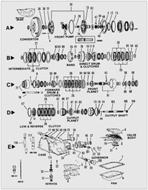 gm 4l60e transmission valve parts diagram buy replacement parts and rebuilt valve bodies