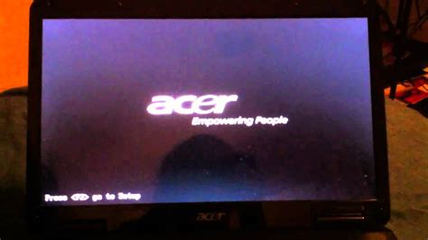 Cer Boat by Acer Wont Boot Help Me