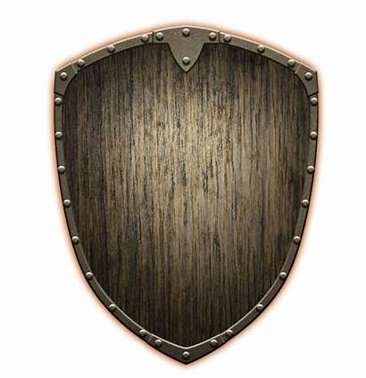 Shield Wooden Beast Quest Simple Birthday Tom