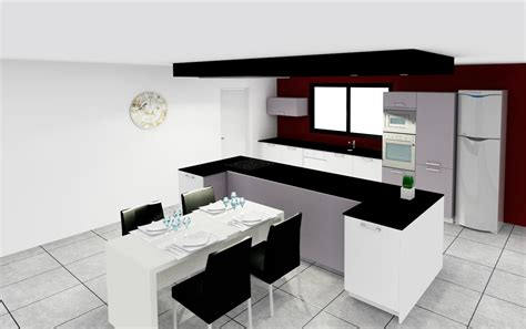 plan implantation cuisine plan implantation cuisine photos de conception de maison
