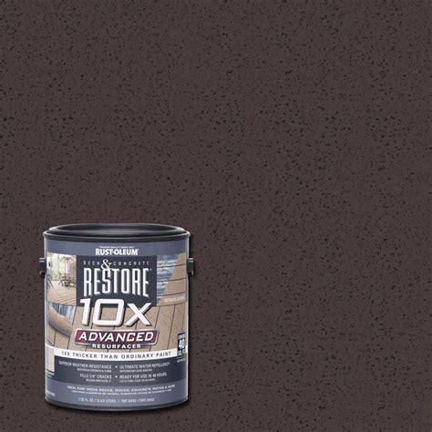 rust oleum restore  gal  advanced teak deck