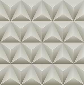 Wallpaper Designer Modern Geometric Dark Gray Light Gray ...