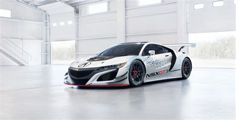 Acura Racing by Acura Unveils Nsx Gt3 Racecar In New York