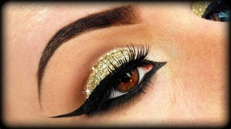 make up gold beautiful eye make up in green and gold shades top pakistan