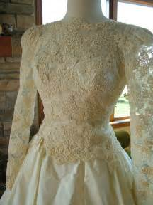 high low wedding dresses wedding dress 1980s vintage alencon lace by
