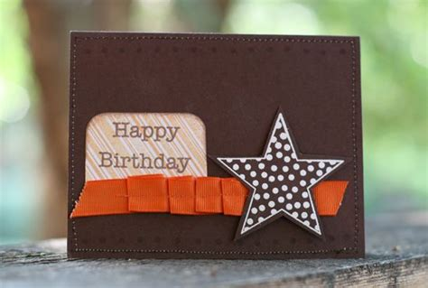 simple  effective birthday card  images
