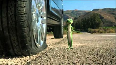 Michael Caine as the Geico Gecko - YouTube