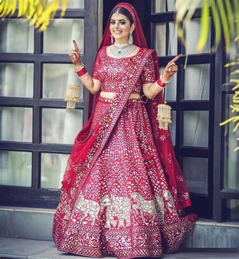punjabi bridal lehenga styles