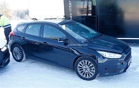 Ford Testing Next-generation Focus In Winter Conditions