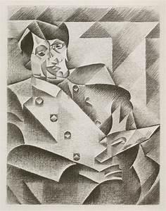 Portrait of Picasso (after Gris) by Juan Gris | Annex ...