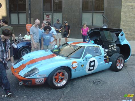 gulf racing colors ford gt40 replica in the gulf racing colors gtcarlot com