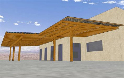 solar panel patio cover