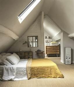 tout pour votre chambre mansardee en photos et videos With chambre parentale sous comble