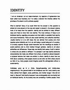 Personal Identity Essays Democracy In America Essay Free Personal  Personal Identity Essays Proposal Essay Topic List also Www Oppapers Com Essays  Essay Health