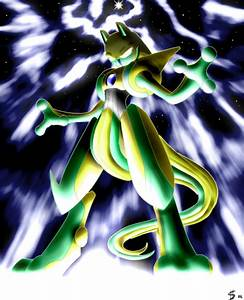 Shiny Deoxys Infects Mewtwo by Esepibe on DeviantArt