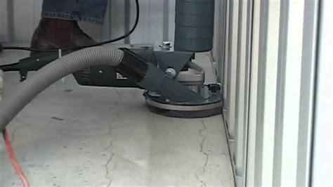 Situp  Grind Dustless Concrete Grinder  Floor Edger