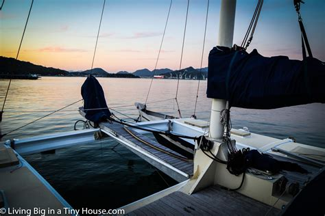 Living On A Boat Sailing The World by Aboard An Epic Sailboat In Japan Living Big In A