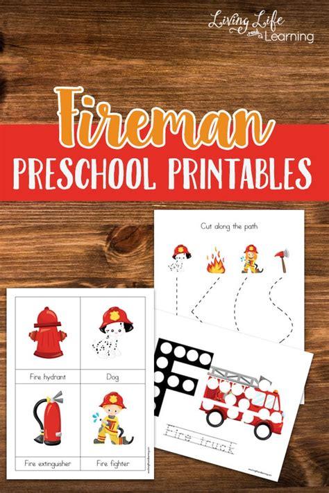 free fireman preschool printables free homeschool deals 768   cap 99