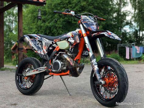 ktm exc 300 supermoto ktm 300 exc sixdays supermoto 300 cm 179 2012 kerava motorcycle nettimoto