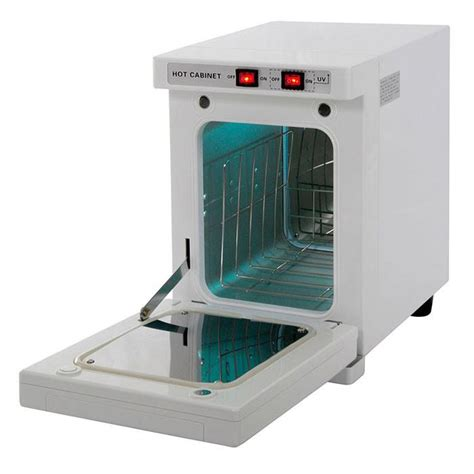 Small Hot Towel Cabinet w/ UV Sterilizer & Light